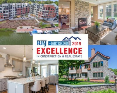 RIEDMAN HOMES TO BE AWARDED IN THE 2019 EXCELLENCE IN CONSTRUCTION & REAL ESTATE AWARDS