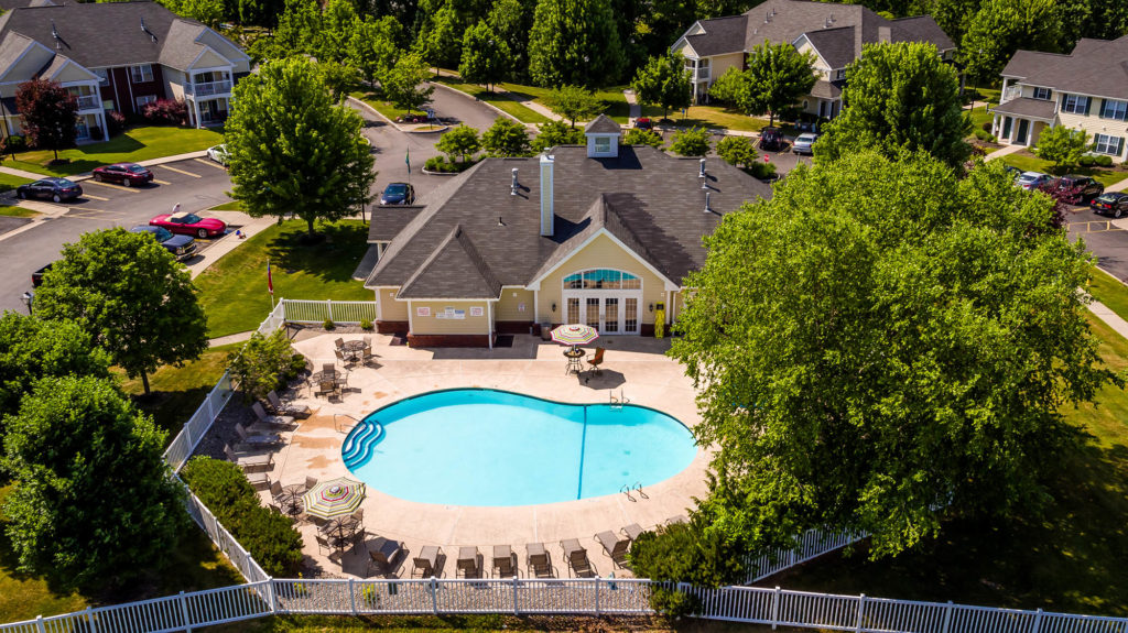 View of Heated Pool | The Hammocks at Southern Hills