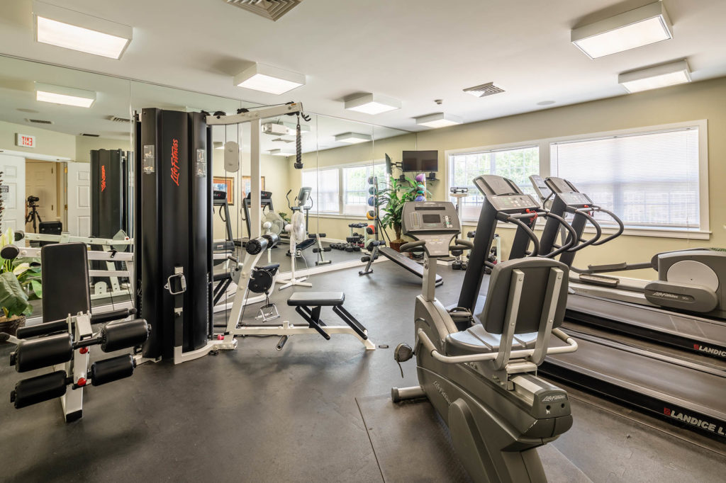 Fitness Center | The Hammocks at Orchard Park