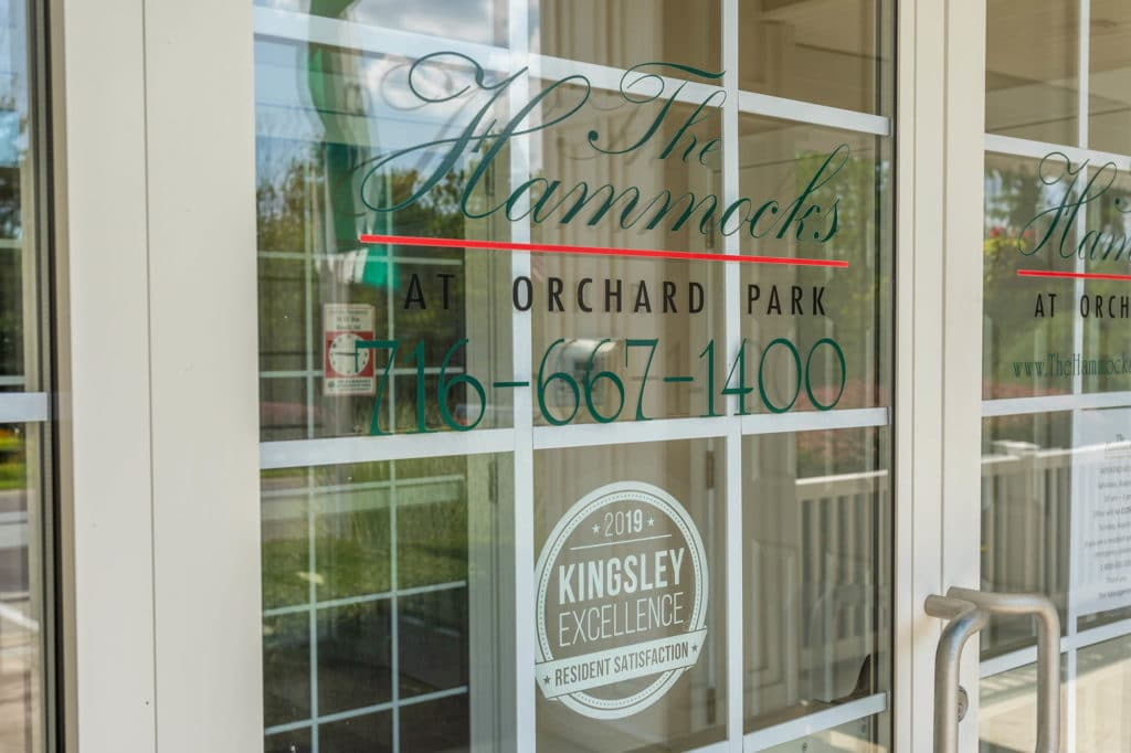 Entry Door | The Hammocks at Orchard Park