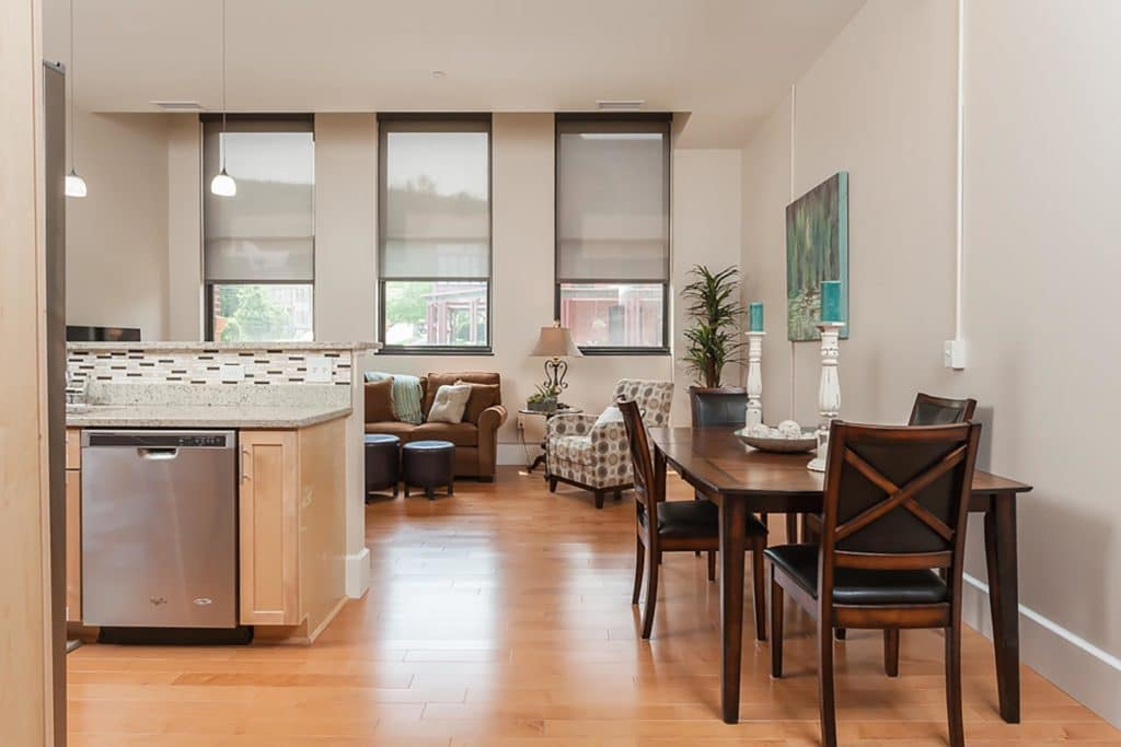 Dining / Living Room   Academy Place