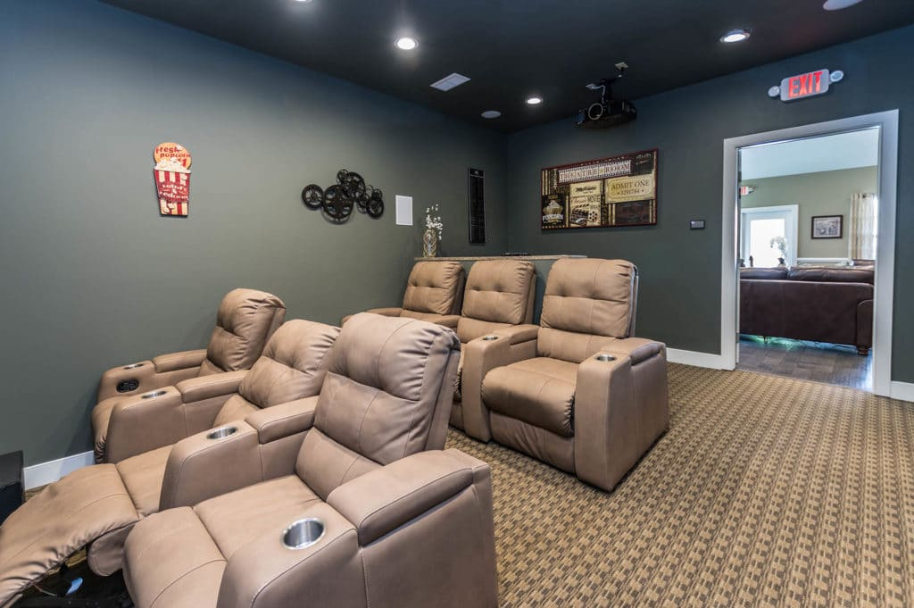 Movie Room | The Hammocks at Millcreek