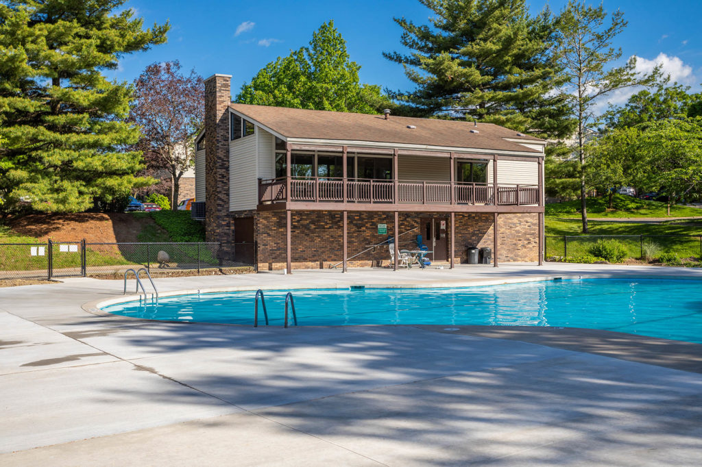 Pool Area | Willowood Apartments