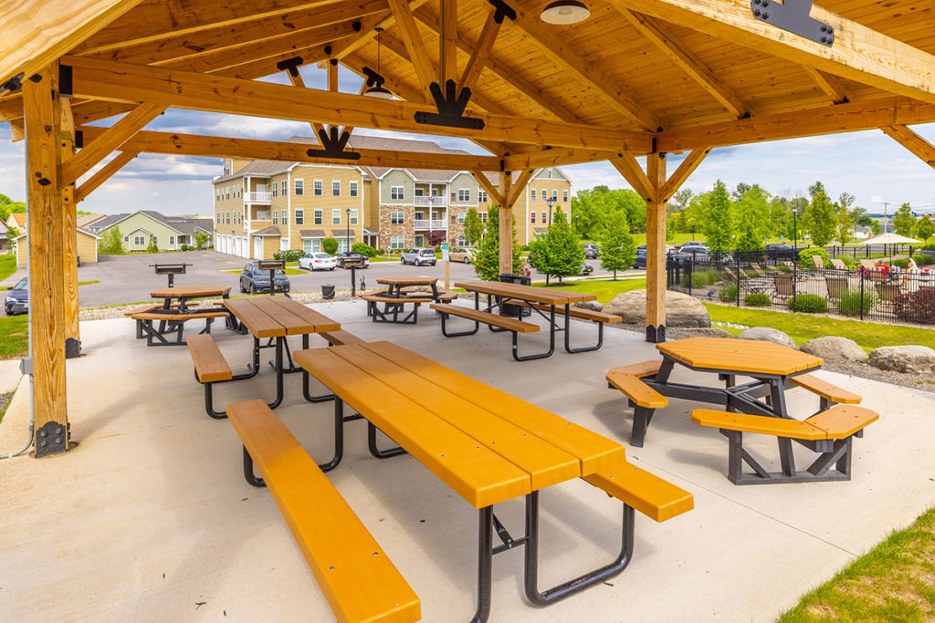 Pavilion Picnic Area with Outdoor Grilling